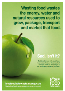 Love Food Hate Waste poster